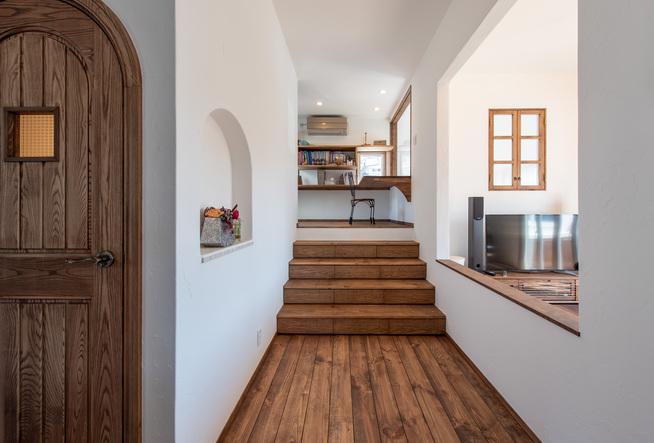 ヨーロッパ風の家