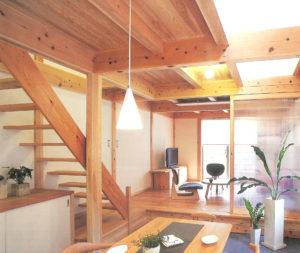 自然の豊かさを感じる家